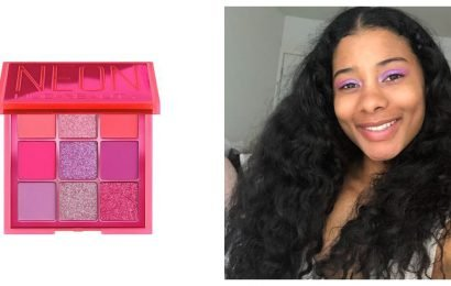 Here's What 3 Editors Really Think of Huda Beauty's Neon — Yes, Neon — Palettes