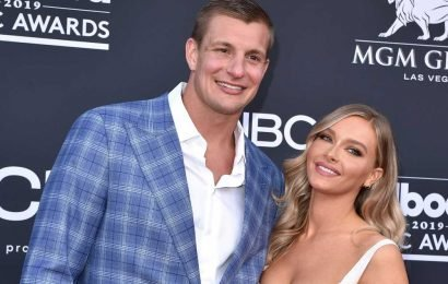 Rob Gronkowski gushes over girlfriend Camille Kostek's SI Swimsuit cover