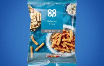 Co-op is now selling halloumi fries-flavoured CRISPS for £1 a bag