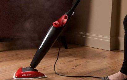 Amazon slashes price of £90 steam mop to just £10