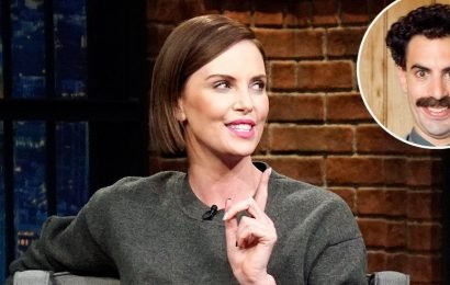 Charlize Theron: I Was Hospitalized for Laughing Too Hard at 'Borat'