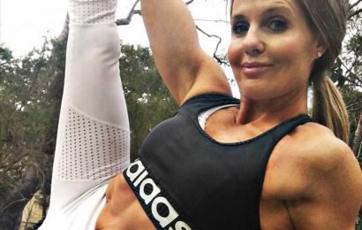 Age-defying mum, 47, claims drinking nothing but water for three WEEKS is the secret to her youthful looks