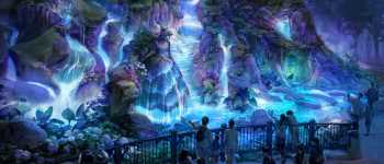 "Concept Art: Tokyo DisneySea's ""Fantasy Springs"" Looks Like Pandora Without 'Avatar'"
