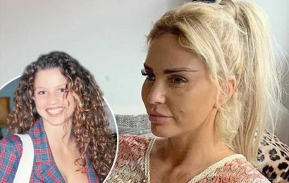 Katie Price warned she's 'ruined her face' by cruel trolls after she posts candid Instagram photo