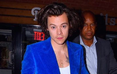 Harry Styles Wears Tiny Tank Top and Clutch, Reduces Rome to Tears