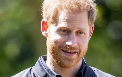 """Prince Harry, Already in Corny Dad Mode, Wore a Jacket That Said """"Daddy"""""""