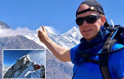 Brit climber, 44, who died on Mount Everest said 'delays could be fatal' just hours before he collapsed near summit