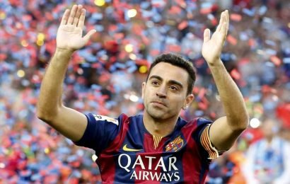 Barcelona legend Xavi announces retirement at end of season aged 39 to focus on coaching career