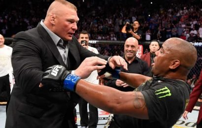 Brock Lesnar's UFC return cancelled as WWE legend retires… meaning no blockbuster Cormier fight