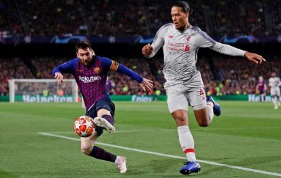 Liverpool star Van Dijk 'frustrated' at fake quotes of him saying Messi is 'too good'