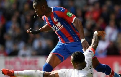Wilfried Zaha turns in devastating display on what could be final appearance for Eagles