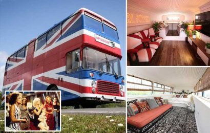 Spice Girls fans can now stay in the original Spice Bus for just £99 on Airbnb
