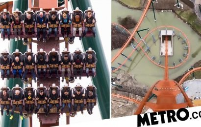 Take a look at the new roller coaster with the world's tallest dive of 250ft