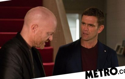 Max Branning returns to a big fight in EastEnders