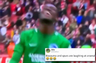 Bissouma becomes 'Spurs legend' after he's spotted laughing at dejected Arsenal players