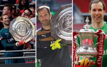 Petr Cech can be Arsenal's lucky omen… having won three trophies AGAINST Chelsea