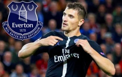 Everton 'offer Thomas Meunier contract' as PSG star reveals transfer interest from several clubs