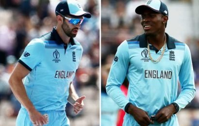 England suffer World Cup injury scares to Mark Wood, Jofra Archer and Liam Dawson against Australia