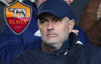 Jose Mourinho 'in talks with Roma' over boss job… but ex-Man Utd manager's move hinges on Champions League qualification