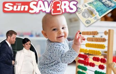 Here's the perfect gifts for new babies when you don't have a royal-sized wallet — plus win £15,000 on the Sun Savers Raffle