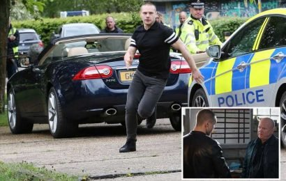 EastEnders spoilers: Terrified Keanu Taylor does a runner as police pull him over during a job for Phil Mitchell