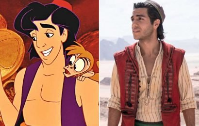 Why is Aladdin wearing so many layers in Disney's live-action remake?