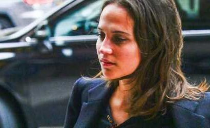 Alicia Vikander Looks Chic on a Shopping Trip in New York City