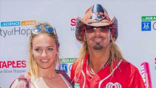Bret Michaels' Beautiful, Blonde Daughter Raine, 18, Poses In Tiny Silver Bikini & Her Dad Loves It