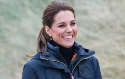 Kate Middleton Is in Her Element in New Photos of Her Garden Design Project