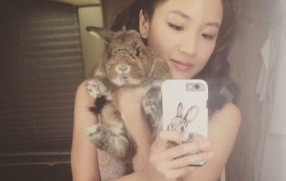 Constance Wu's Bunny Has Been Accused Of Being A Bigger Menace Than Her!
