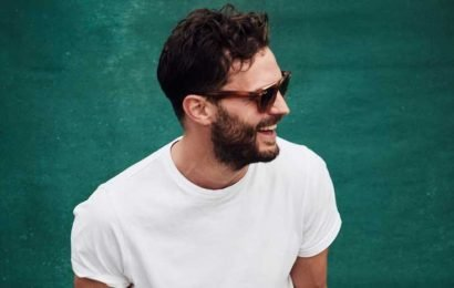 Jamie Dornan Shows Off His Smile & Shades at Music Festival in London!