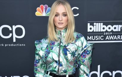 Beam Me Up! I'm Over the Moon About Sophie Turner's Metallic Jumpsuit