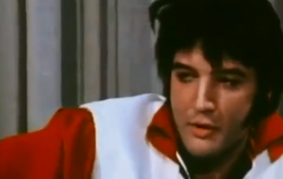 Elvis used twin as body double in 1974 clip according to crazy fan theory