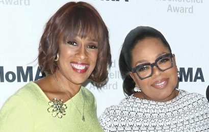 Gayle King heads to Broadway show with Oprah Winfrey night before CBS relaunch