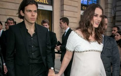 Keira Knightley pregnant with her second child with husband James Righton
