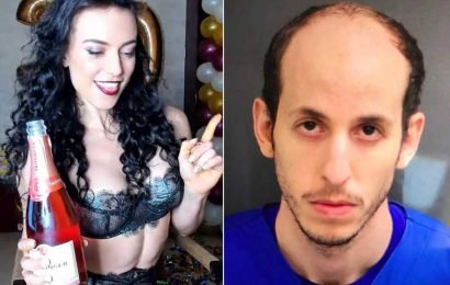 Records reveal man's obsession with Bulgarian camgirl before allegedly killing his family