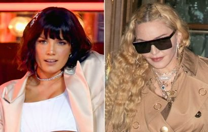 Halsey not 'into' Madonna's music during night out