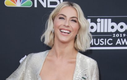 Julianne Hough Ices Neck After Paula Abdul's Hat Hits Her At BBMAs: It's An 'Honor'