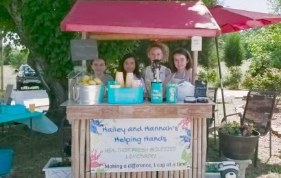 Sisters sell lemonade to pay off school district's $41K lunch debt