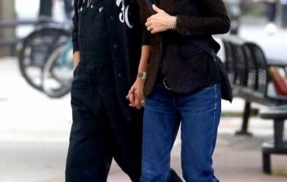 Meg Ryan Holds Hands with Fiancé John Mellencamp in Rare Public Outing