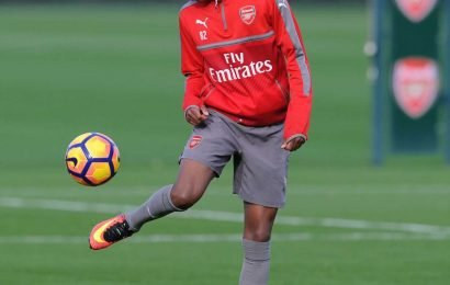 Who is Joe Willock and is Arsenal's teenage midfielder starting against Burnley?