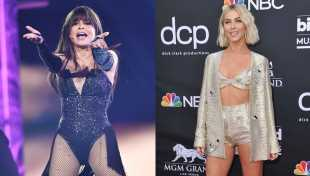 Paula Abdul Hits Julianne Hough With Her Hat During BBMAs Performance & Twitter Goes Wild — Watch
