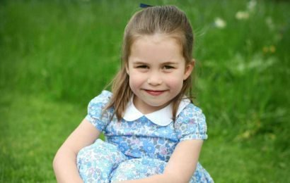 Royals celebrate Princess Charlotte's birthday with adorable photos