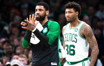 Kyrie Irving gets revealing defense as he quietly slips out Celtics door: 'That's bulls–t'