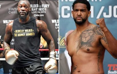 Breazeale vows to make Wilder 'pay' for comments about his son seeing his 'crippled daddy'