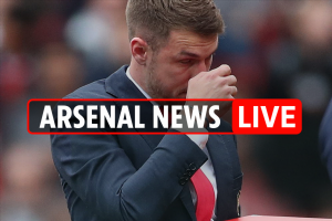 8pm Arsenal transfer news LIVE: Van de Beer linked, Ramsey's tearful farewell, Monreal dive storm, Wenger to Newcastle