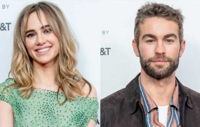 Suki Waterhouse & Chace Crawford Step Out for 'Charlie Says' Premiere