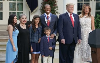 Trump awards Tiger Woods the Presidential Medal of Freedom