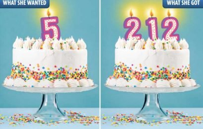 Mum ordered Tesco birthday cake candle with '5' on it for her daughter – but instead got '212'