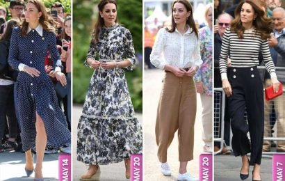 How Kate Middleton went from prim to trendy and reclaimed her crown as queen of style